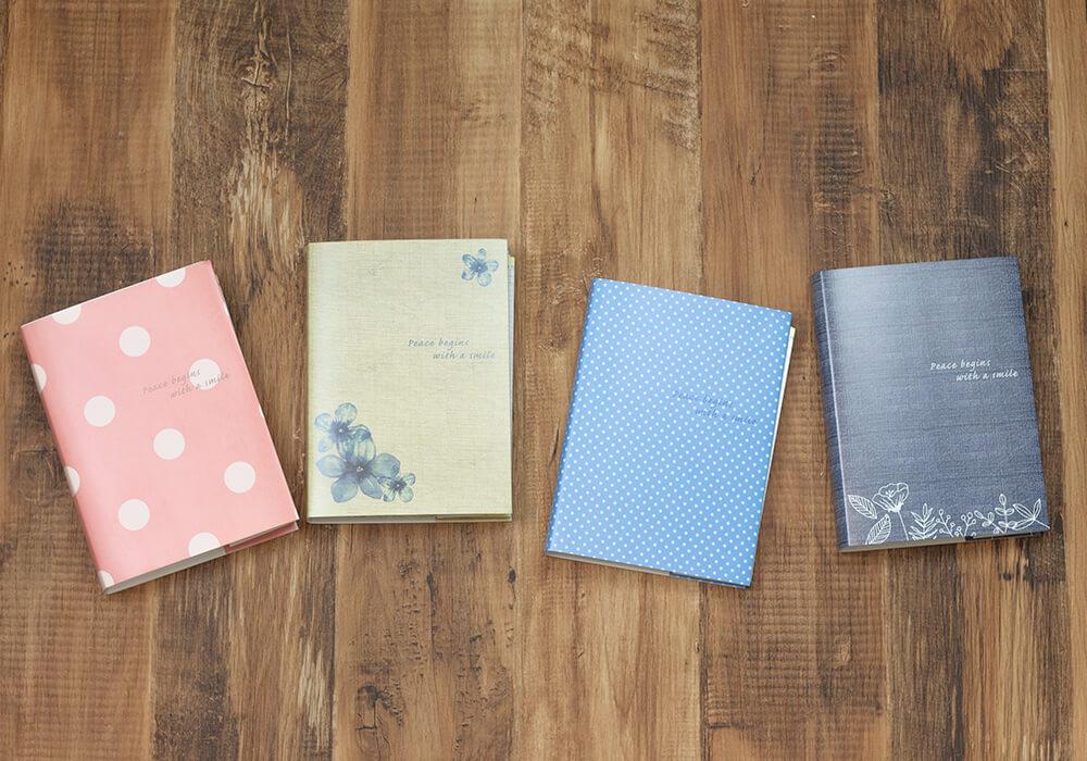 妊活手帳®は4種類カラーがございます